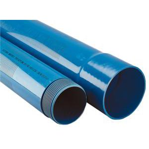 Tube PVC plein pour forage - 4 m à coller