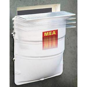 Cour anglaise Meamax avec grille maille 30/30 - MEA