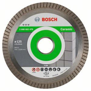 Disque à tronçonner diamanté Best for Ceramic Extra Clean Turbo - BOSCH
