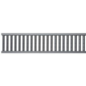 ACO grille self passerelle anthracite