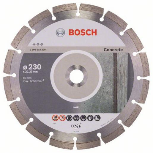 Disque à tronçonner diamanté Standard For Concrete - BOSCH